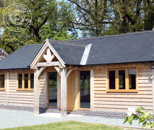 Radnor Oak manufactures oak cabins for holiday lodge parks.