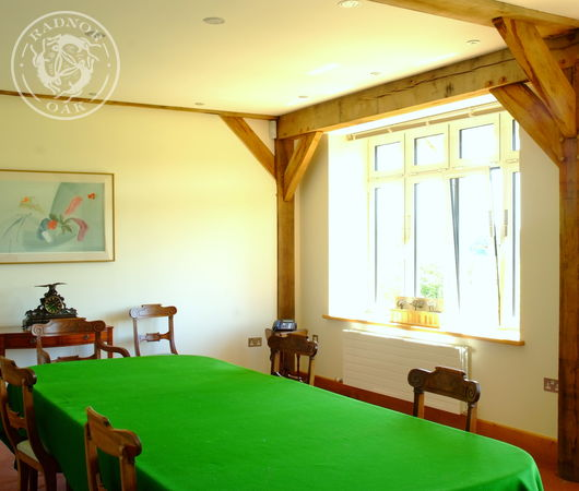 Radnor Oak commercial offices include spacious, luxury board rooms.