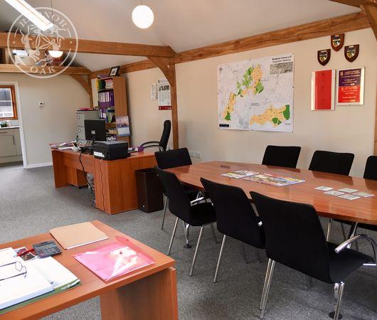 Oak Frame Annexe | Internal | Estate Office | Radnor Oak
