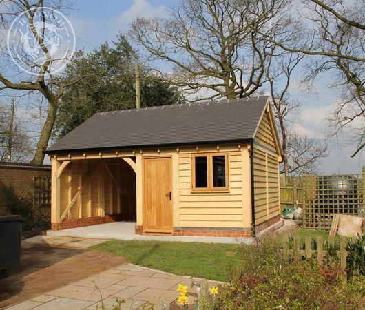 Radnor Oak manufactures oak framed workshops and garden offices.