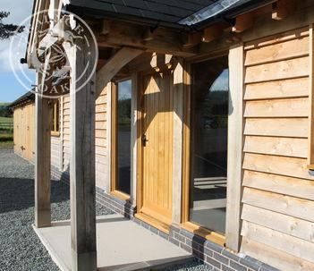 Annexe | Show Site | Oak Porch | Oak Doors | Radnor Oak