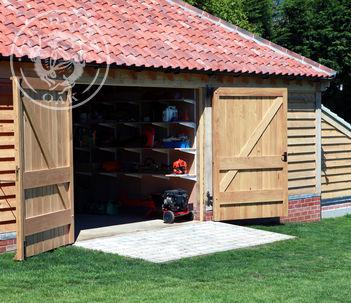 Double Oak Doors | Radnor Oak