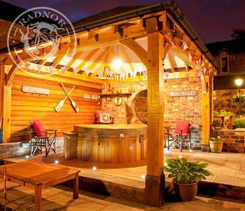 Oak gazebo | Hot Tub Enclosure | Outdoor Living | Radnor Oak