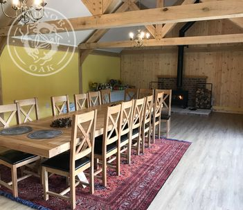 A stunning shoot lodge at a family owned shooting estate.