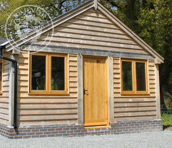 Annexe | Show Site | Oak Doors | Gable End | Radnor Oak