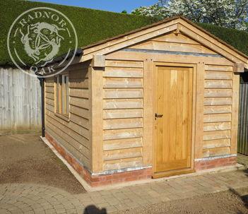 Exterior Oak Door | Fulle Boarded | Radnor Oak