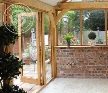 Exterior Oak Door | French Door | Radnor Oak