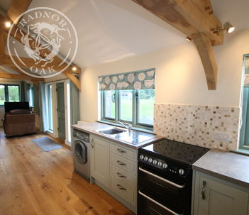 Oak Framed Annexe | Internal | Kitchen | Alternative Accommodation