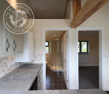 Oak Framed Annexe | Internal | Living Area | Alternative Accommodation