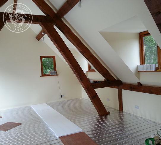 4 Bay Brampton | Interior | Home Office | Family Games Room | Radnor Oak