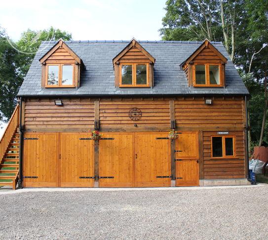 4 Bay Brampton | Interior | Home Office | Family Games Room | Oak Staircase | Radnor Oak