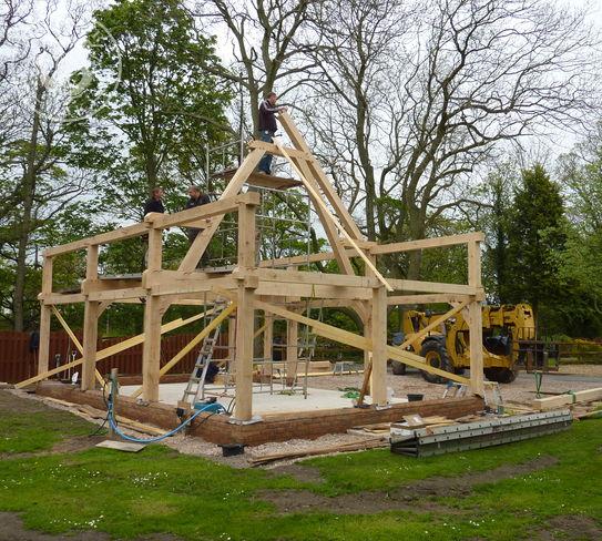 The first truss