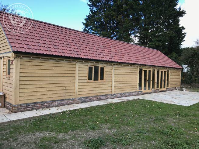 oak frame shoot lodge