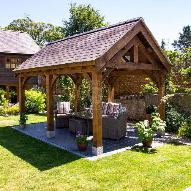 Oak Framed Garden Pavilion | Outdoor Living & Entertaining | Radnor Oak