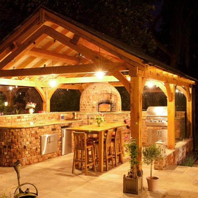Oak Gazebos Amp Pavilions Radnor Oak