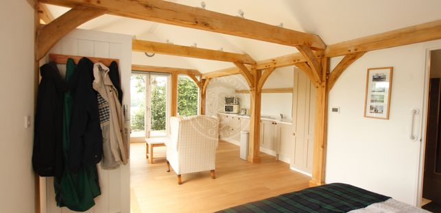 Annexe | Garden Cottage | Internal | Open Plan | Radnor Oak | Air B&B | Guest Accommodation