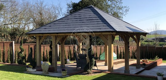 Bespoke Gazebo | Garden Retreat | Radnor Oak