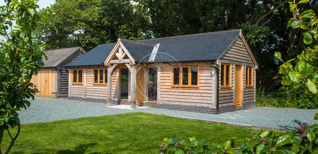 Traditional Annexe Designs | Oak Framed Annexes & OutBuildings | Radnor Oak
