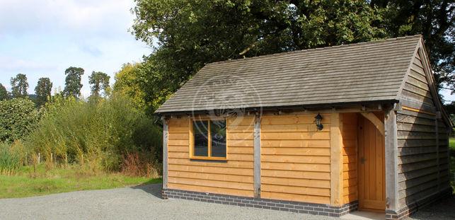Kinsham 2 Bay | Oak Framed Workshop | Radnor Oak