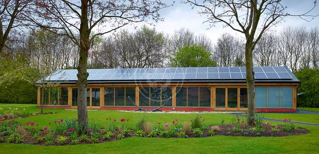 Oak Framed indoor Swimming Pool | Bespoke Oak Framed Buildings | Radnor Oak