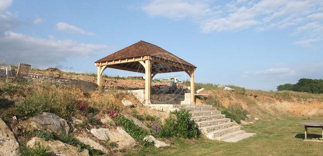 Large Oak Frame Garden Gazebo | Outdoor Living Space | Radnor Oak