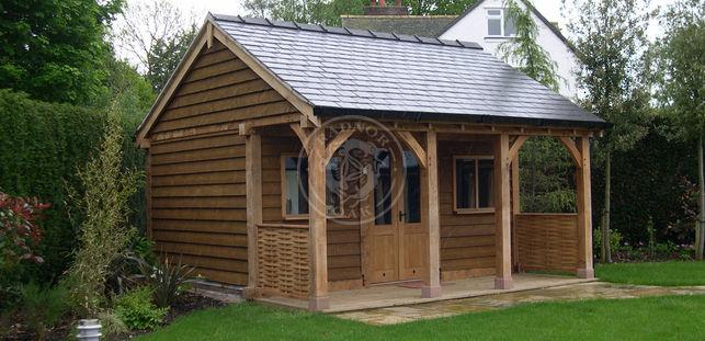 The gallery radnor oak for Oak garden office