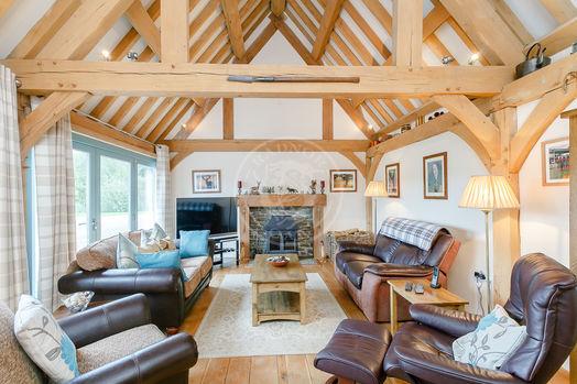 Garden Cottage | Accommodation | Interior | Norton | Radnor Oak  | Air B&B | Guest Accommodation