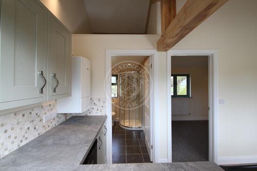 Oak Framed Annexe | Kitchen Area | Showsite Annexe | Radnor Oak | Air B&B | Guest Accommodation