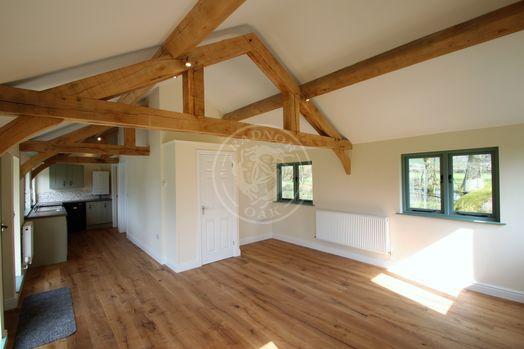 Oak Framed Annexe | Open Plan Living Area | Showsite Annexe | Radnor Oak | Air B&B | Guest Accommodation