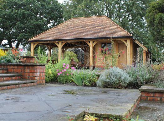 Bespoke Byton High Ridge | Garden Office | Home Studio | Radnor Oak
