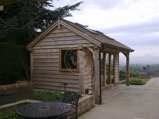 Summer House   SH006   Radnor Oak   Garden Office and Home Studio
