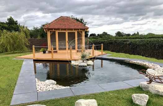 Summer House   SH004   Radnor Oak   Garden Office and Home Studio