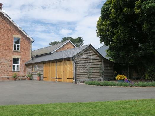 Oak Carport   Kinsham   Bespoke   Extension   Radnor Oak