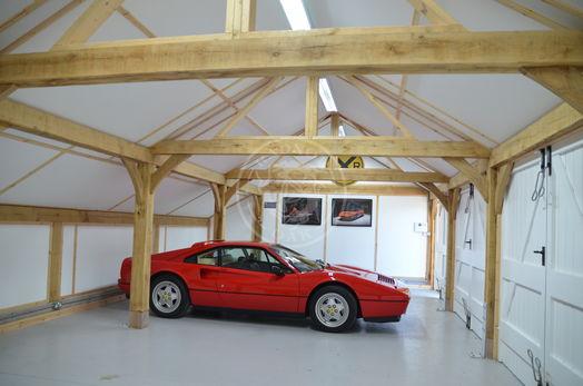 Lucton | 4 Bay | Classic Car Showroom | Interior | Radnor Oak