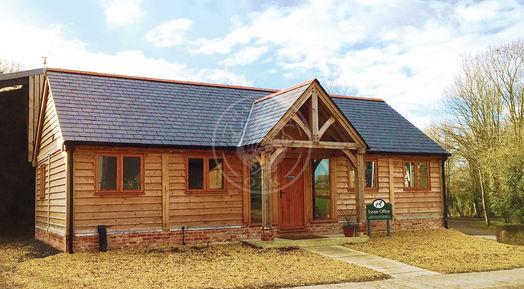 Oak Framed Office & Annexe based on a Byton High Ridge | Radnor Oak