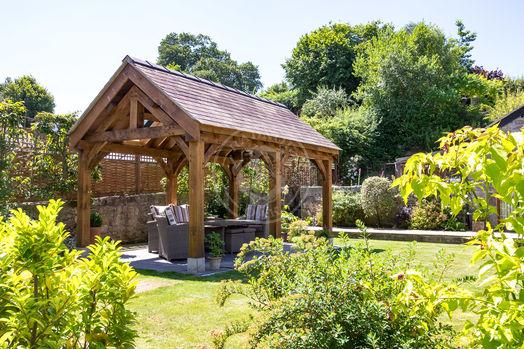 Oak Framed Garden Pavilion | Outdoor Living & Entertaining | Radnor Oak