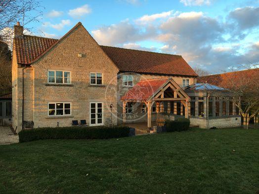 Oak Framed Garden Pavilion | Outdoor Patio Shelter | Radnor Oak
