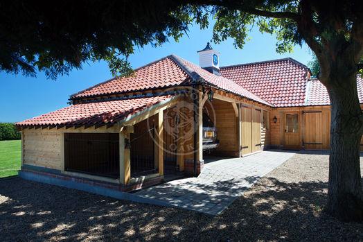 Bespoke Oak Log Store & Dog Kennel | Radnor Oak | Bespoke & Complexes