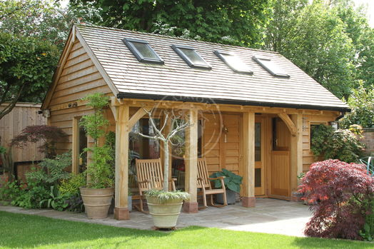 Summer House & Home Office   SH006   Radnor Oak