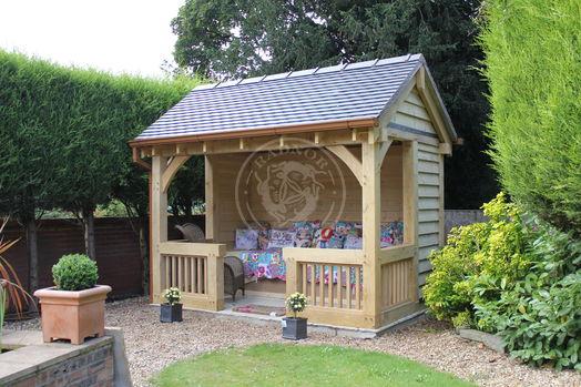 Bespoke Summerhouse   Radnor Oak   Garden Office   Hobby Room & Studio