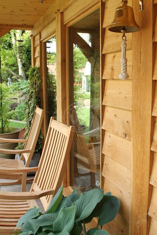 Summer House & Garden Office   SH006   Radnor Oak   Home Studio