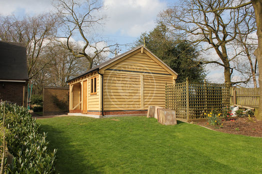 Small Oak Framed Garden Room and Potting Shed | Walton 2 Bay | Radnor Oak