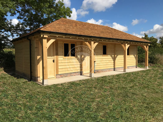 Walton 3 Bay | Walton Adaptation | Home Office | Garden Room | Studio | Radnor Oak
