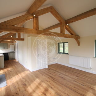 Oak Framed Annexe | Open Plan Living Area | Showsite Annexe | Radnor Oak | Air B&B | Guest Accommodation