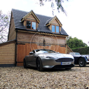 Brampton 2 Bay | Home Office | Carport for Classic Cars | Radnor Oak | Working From Home
