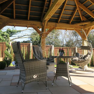 Bespoke Oak Framed Gazebo | Garden Retreat | Radnor Oak