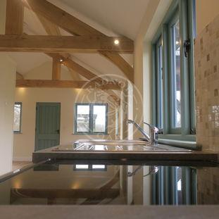Oak Framed Annexe | Kitchen Area Interior | Radnor Oak