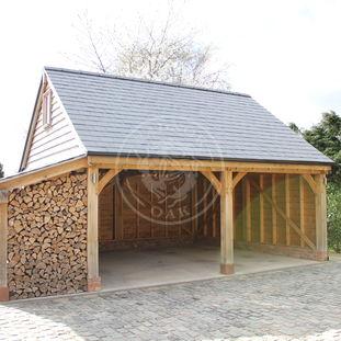 Log Store | LS3001 | Fully Open | Radnor Oak