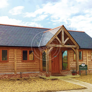 Oak Framed Office & Annexe based on a Byton High Ridge   Radnor Oak