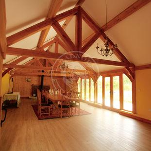 Shoot Lodge | King Oak Trusses | Radnor Oak